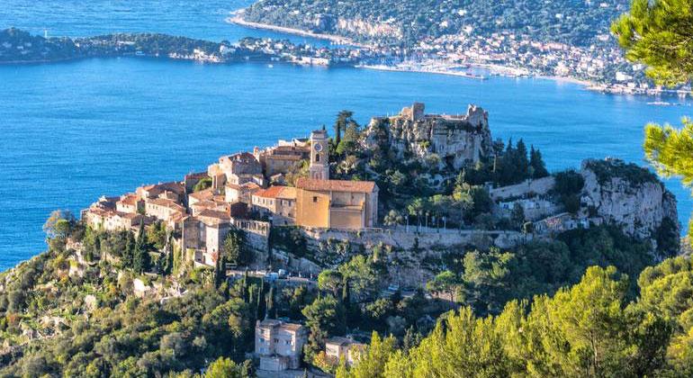 French Riviera, Èze
