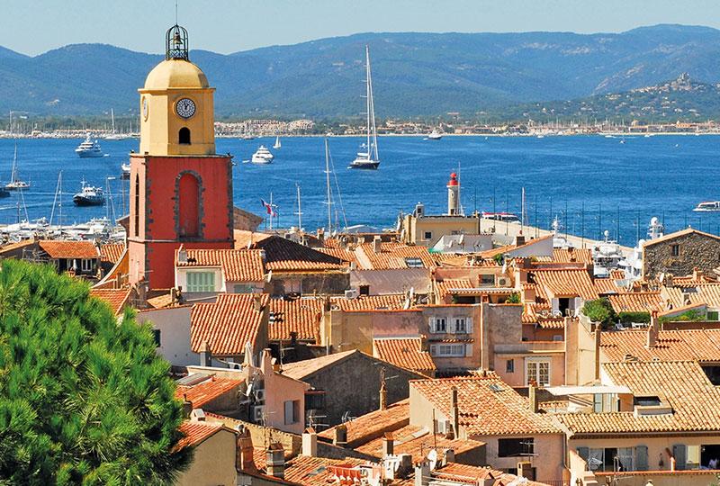 Saint Tropez to Monaco